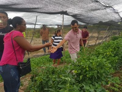 Intercâmbio de agricultores fortalece a agroecologia no sul do Piauí